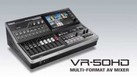 Roland VR-50HD Multi-Format AV Mixer Introduction