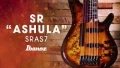 "Ibanez SR ""ASHULA"" featuring Franck Hermanny - 7-string fretted/fretless hybrid bass"
