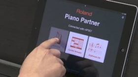 Piano Partner iPad app Overview - Roland Connect Sept. 2012
