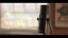 M-Audio || Uber Mic - Multi Capsule Professional USB Mic with Headphone Output