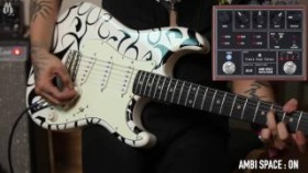 FREE THE TONE Ambi Space Digital Reverb AS-1R Demo by Duran