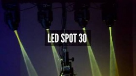Fractal Lights MINI LED GOBO SPOT 30W - Test w Infomusic.pl