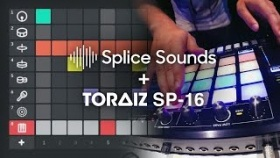 Pioneer DJ & Splice: Create TORAIZ SP-16 scenes anywhere with Splice Sounds