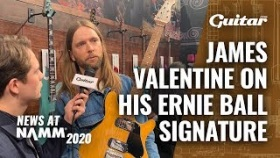"""One guitar for many different styles"": Maroon 5's James Valentine on his Music Man signature"