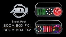 ADJ Boom Box FX1 & Boom Box FX2 Sneak Peek
