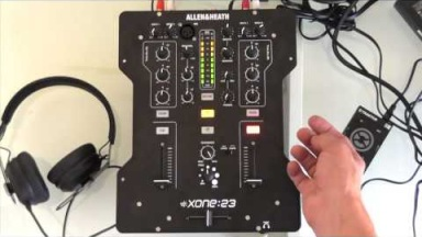 Allen & Heath Xone:23 DJ Mixer Talkthrough