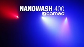 Cameo NanoWash 400 - 4 x 10 W Cree RGBW LED Mini Wash Moving Head