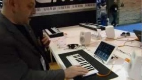 CME Xkey Controller with POLY Aftertouch at NAMM 2013, $99