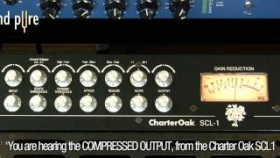 Charter Oak SCL-1 Compressor - How to Best Compress Acoustic Guitar