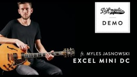 Excel Mini DC Demo (Spruce) with Myles Jasnowski | D'Angelico Guitars