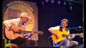 Al Di Meola and Adam Palma - spontaneous jam in Wroclaw 1st May 2016