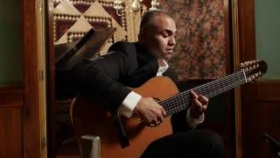 "Ortega Guitars Artist Javier Reyes performs ""Suspiro"" with his 8-String Classical Guitar"