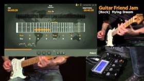 "Roland Guitar Friend Jam Demo #1; Rock ""Flying Dream"""
